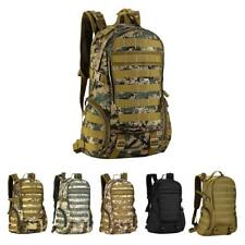 35L Multi-function Outdoor MOLLE Bag Backpack Camping Hiking Travel Daypacks