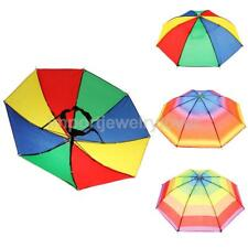 Funny Novelty Umbrella Hat Festival Outdoor Foldable Fishing Camping Beach Cap