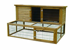 Lazy bones, Extra large hutch with double size run