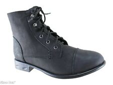 Roc Boots Riff Leather Casual Lace Up Ankle Boots