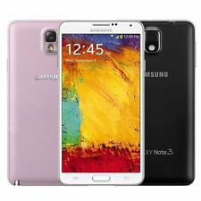 NEW 5.7'' UNLOCKED AT&T T-Mobile Samsung Galaxy Note 3 III 32GB White/Black/Pink