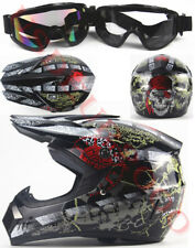 Off Road Dirt Bike Motocross Enduro Racing KTM ATV MX Motorcycle Helmet Skull