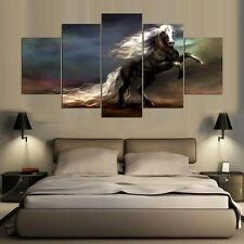 Animal Horse Painting Modern Proter Abstract Canvas Picture Wall Art Home Decor