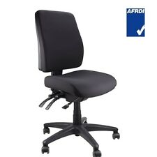 Ergoform Medium Back Fully Ergonomic Black Task Office Chair