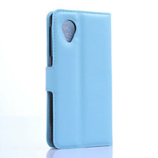 Luxury PU Leather Card Slots Stand Ultra Slim Case Cover For LG / Google Nexus 5