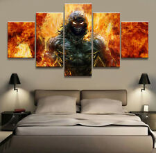 Music Band Disturbe Poster Wall Modern Abstract Picture Prints Canvas Home Decor