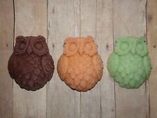 Owl Soy Wax Scented Melts Tarts Wickless Candle Bird Wax Warmers