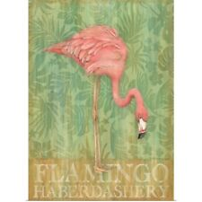 Poster Print Wall Art entitled Pink Flamingo