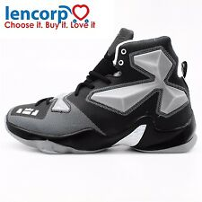 Mens High Quality Sneakers White Black Basketball Boots Outdoor Basketball Shoes