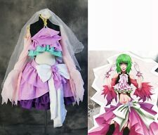 a-209 VOCALOID MEGPOID GUMI Cosplay costume dress CROPPED Made to Measure