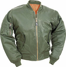 New Mens Fly Pilot Biker Army Doorman Harrington Bomber Jacket Military Security