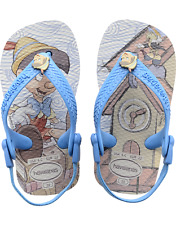 Havaianas Baby Disney Classic Pinocchio Sandals Toddler Infant Flip Flops NEW
