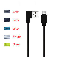 Micro USB Data Cable Angle 90 degree Double-Side Charging Lead For Android Phone
