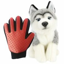 Pets Glove Grooming Brush Fur Massage Glove Brush Comb for Dog Cat Bath Cleaning