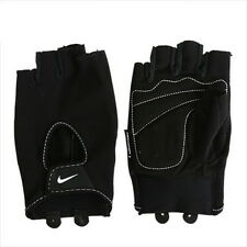 Nike GX0063-037 Fundamental Training Gloves Half Finger Weight Lifting Protector