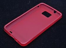 Matting TPU Case For Samsung Galaxy S II S2 I9100 Gel Cover Multi Color