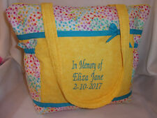 Cancer Survivor or Rainbow Baby diaper bag handbag purse with poems great gift