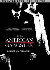 New American Gangster (DVD, 2009) dvd unrated extended edition