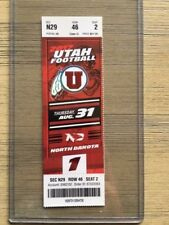 2017 Utah Utes Football Official Mint Ticket Stub - pick any game!