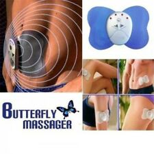 Butterfly Body Muscle Mini Electronic Massager Pain Relief Fitness Fat Slimming