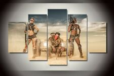 Desert For Warriors Movie Game Poster Painting Modern Canvas Wall Art Home Decor