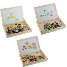 1 Box of Magnetic Jigsaw Jigsaw Puzzles Set Children Educational Wooden Toy Gift