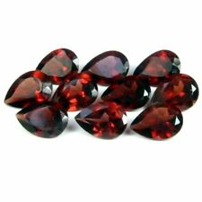 3x4mm to 10x8mm Calibrated Natural Red Garnet Pear Cut Red Color Loose Gemstones