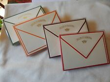 """Note Cards & Matching Envelopes Vellum of Crown Mill 4.5""""X6.25"""" Set of 10"""