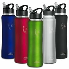 SWIG SAVVY 25.oz Capacity. Stainless Steel Insulated Water Bottlew Wide Mouth