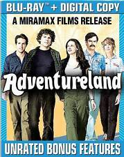 Adventureland (Blu-ray Disc, 2009, 2-Disc Set, Canadian) Free Shipping!