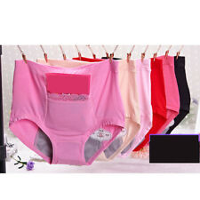 High Quality Lady Seamless Panties Breathable Solid High-rise Brief of 1pc