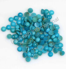 Wholesale Natural Turquoise Gemstone Round Cabochon 3mm To 10mm Loose Gemstone