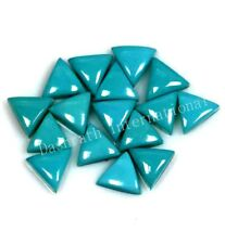 NATURAL ARIZONA TURQUOISE 5 MM OR 6 MM TRIANGLE LOOSE GEMSTONE CABOCHON