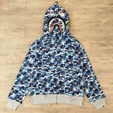 2017 Camo Shark Jaw Design Men's Bape Classic Hoodie A Bathing ape Jacket 5Size