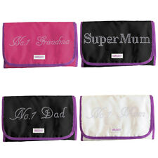 Personalized Cosmetic Toiletry Crystal Hanging Bag+Kit Organize Mothers day gift