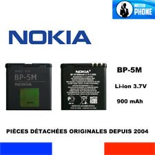 REPLACEMENT BATTERY GENUINE NOKIA BP5M BP-5M OEM 900mAh 3,3Wh 3,7V ORIGINAL AKKU