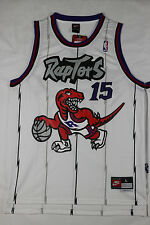 Vince Carter Toronto Raptors #15 Throwback Jersey White S - 2XL All Stitched