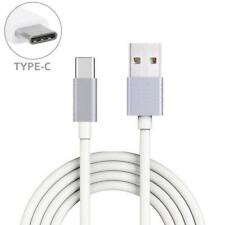 For AT&T PHONES - WHITE 10FT LONG TYPE-C CABLE RAPID CHARGER SYNC USB WIRE