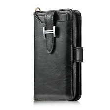 Genuine Leather Card Slot Holder Wallet Case Cover For Samsung Galaxy Note 8