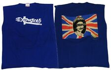 """Sex Pistols """"Logo - God Save The Queen"""" Double Sided Cutoff Tank - FREE SHIPPING"""