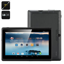"""Black 7"""" Android 16 GB Tablet Bundled with Waterproof Case"""