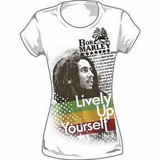 "Bob Marley ""Lively Up Yourself"" Ladies Extra Long Body - FREE SHIPPING"