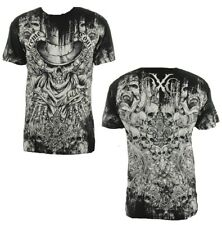 AFFLICTION Xtreme Couture Small PUPPET MASTER OFFERING T SHIRT S UFC Skulls Tee