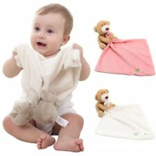 Baby Newborn Infant Appease Towel Plush Toy Bear Doll Reassure Bi   SM