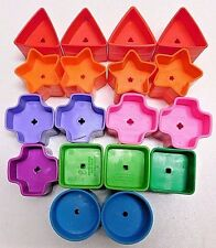 "Fisher Price Brilliant Basics Babys First Blocks U Pick ""One"" Replacement Shape"
