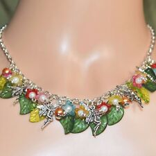 Fairy Flower Pagan Necklace - Faery, Wicca, Sidhe, Pagan Jewellery, Wicca, Witch