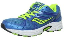 SAUCONY Women's Grid Cohesion 6 -Blue/Citron- Running Shoe