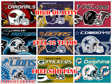 Full 32 NFL Football Team Helmet Logo Banner Flags 3x5 ft Flag High Quality
