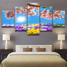 Flowers Bloom Painting Modern Picture Abstract Prints Canvas Wall Art Home Decor