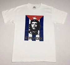 "Che Guevara ""Revolution"" T-shirt Official Adult Mens White New S,M,L,XL"